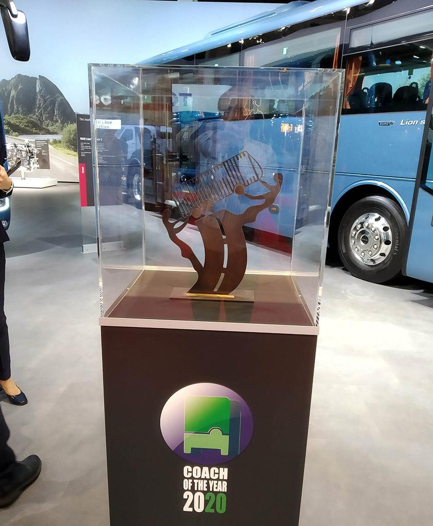 "MAN Lion's Coach ""Coach Of The Year 2020"" Award — Foto: Jornal Strada - Giancarlo Terrassan"