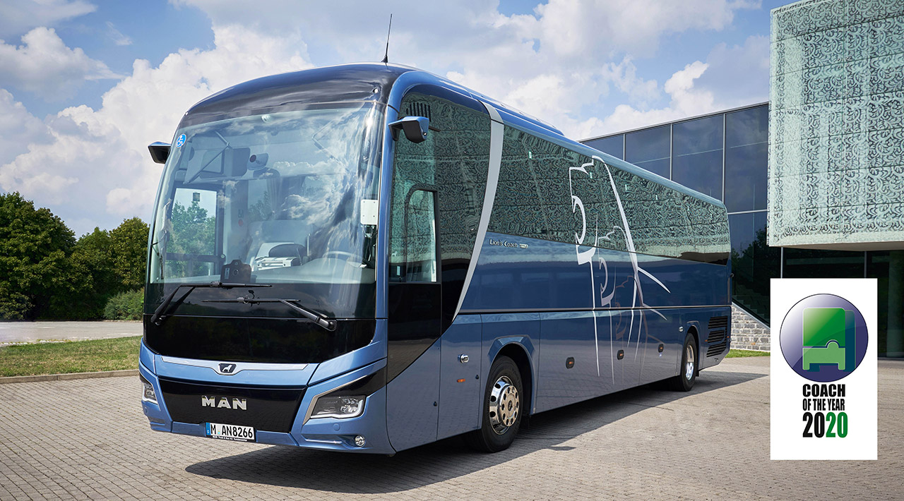 "MAN Lion's Coach ""Coach Of The Year 2020"" — Foto: MAN Truck & Bus"