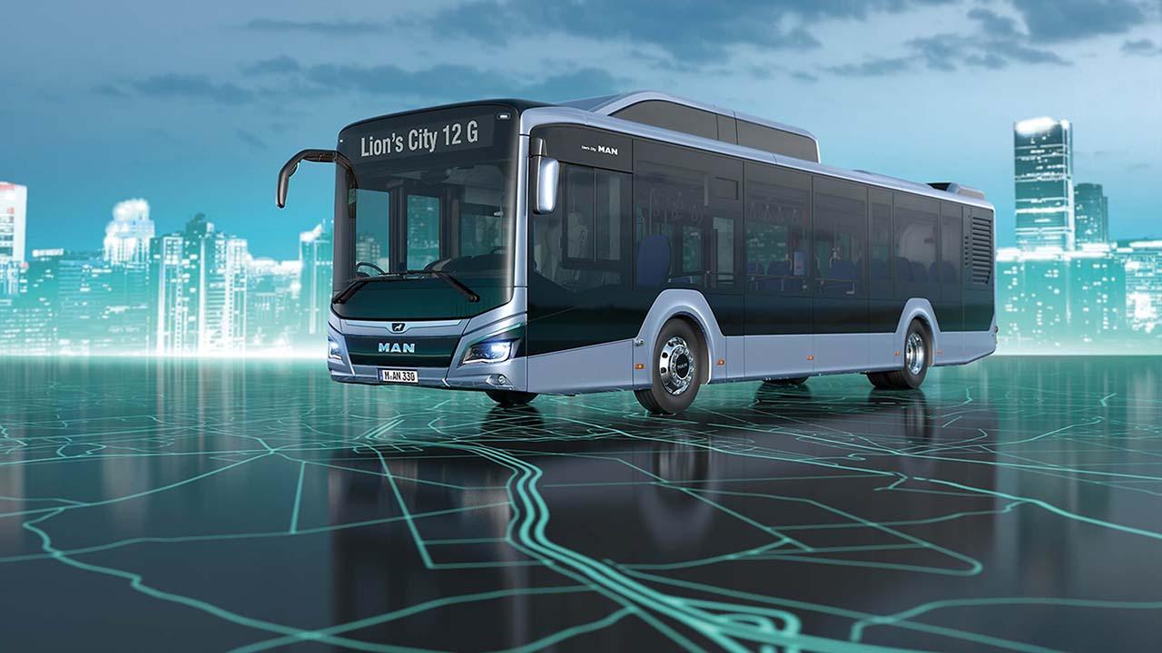 "MAN Lion's City 12 G EfficientHybrid, ""Safety Label 2019"" Busworld Award — Foto: MAN Truck & Bus"