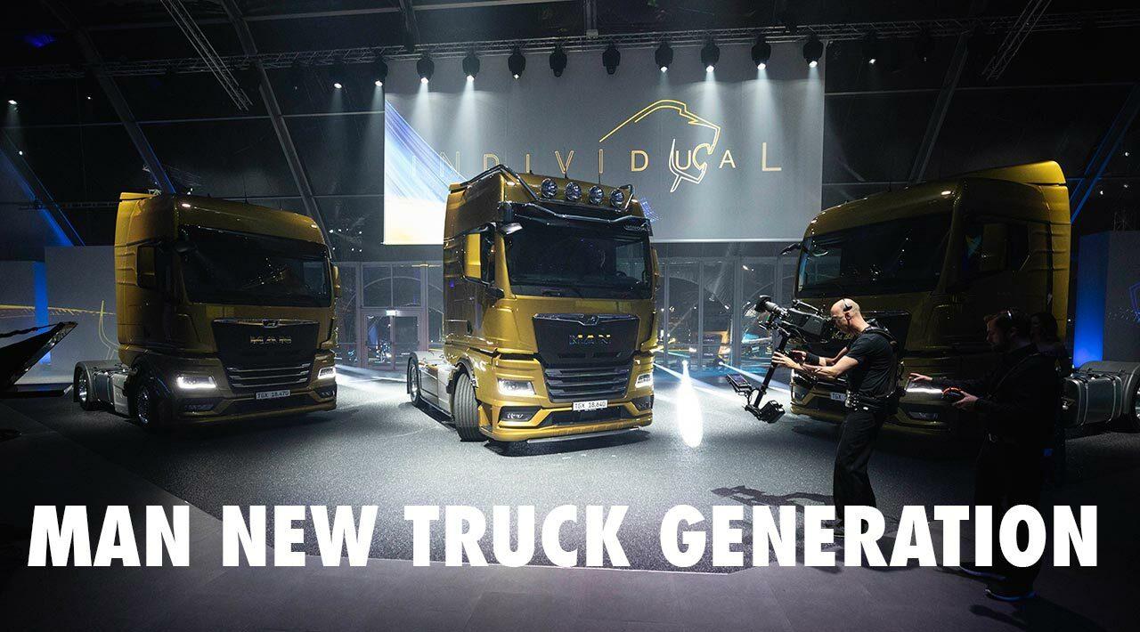 Monumental lançamento da MAN New Truck Generation em Bilbao
