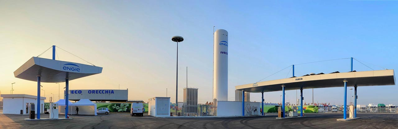 ENGIE GNC/LNG Station - Photo: IVECO