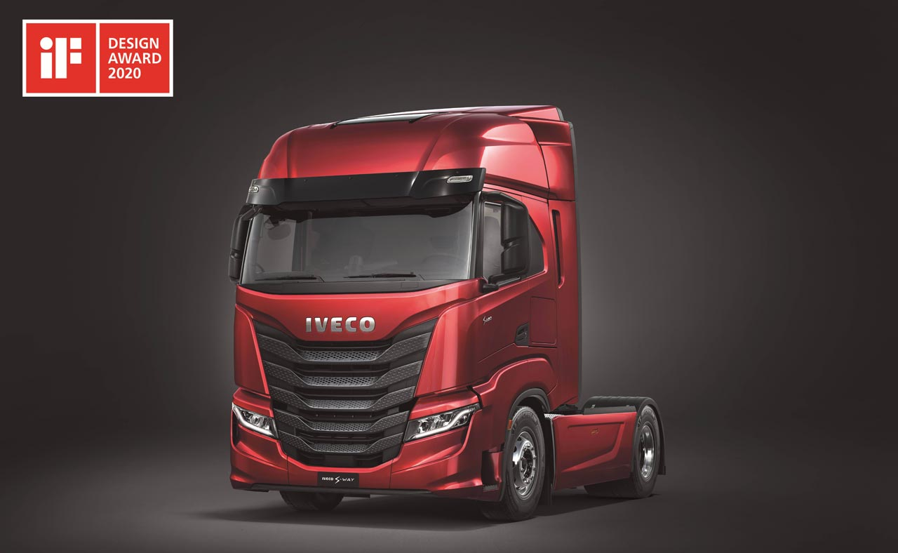 S-WAY iF DESIGN AWARDED - Photo: IVECO