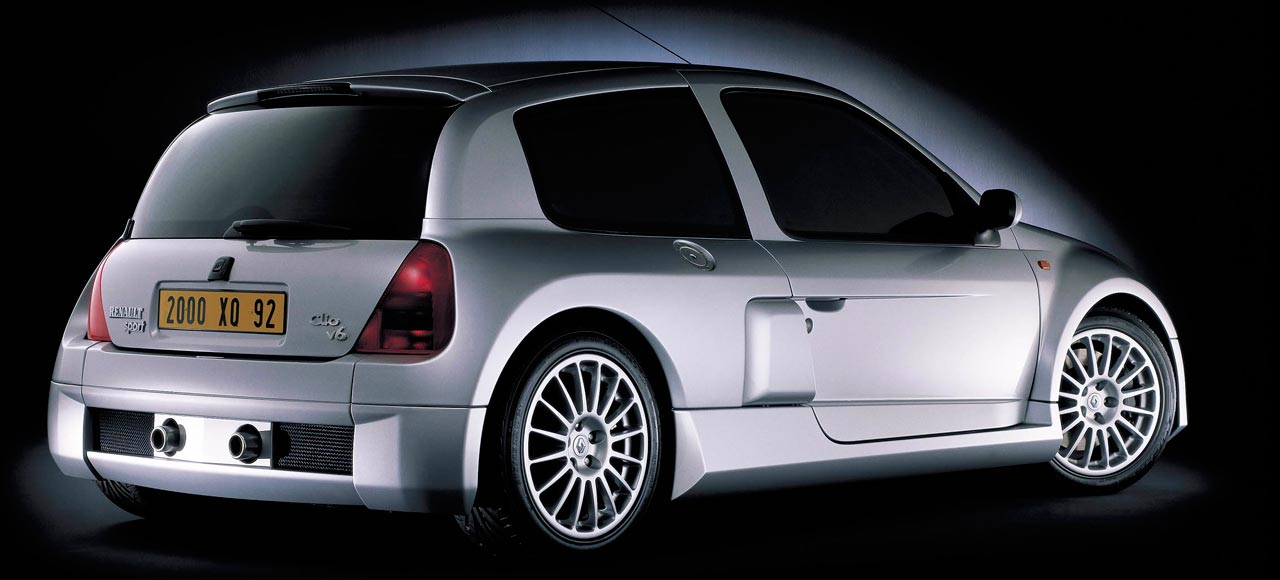 Renault Clio II V6 - Photo: Renault
