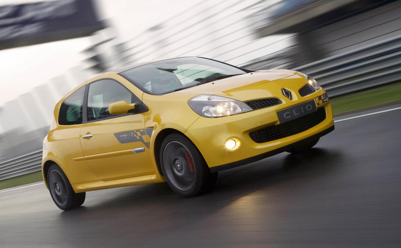 Renault Clio III R.S. - Photo: Renault