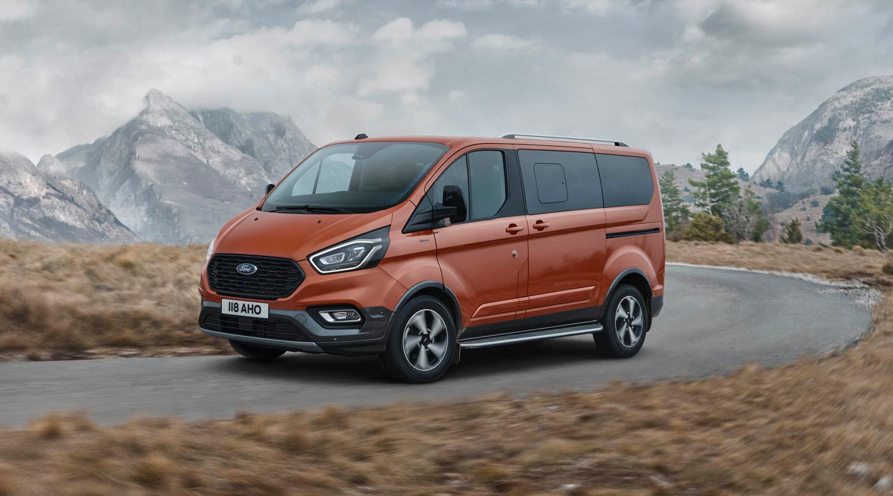 Ford Tourneo Custom Active - Photo: Ford