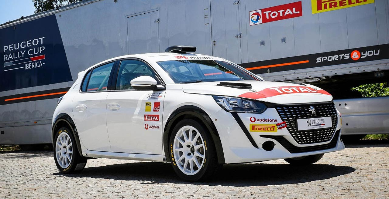 PEUGEOT 208 RALLY 4 - Photo: PEUGEOT