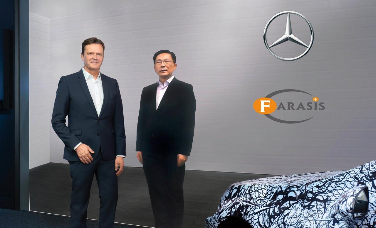 Markus Schäfer & Yu Wang - Photo: Daimler