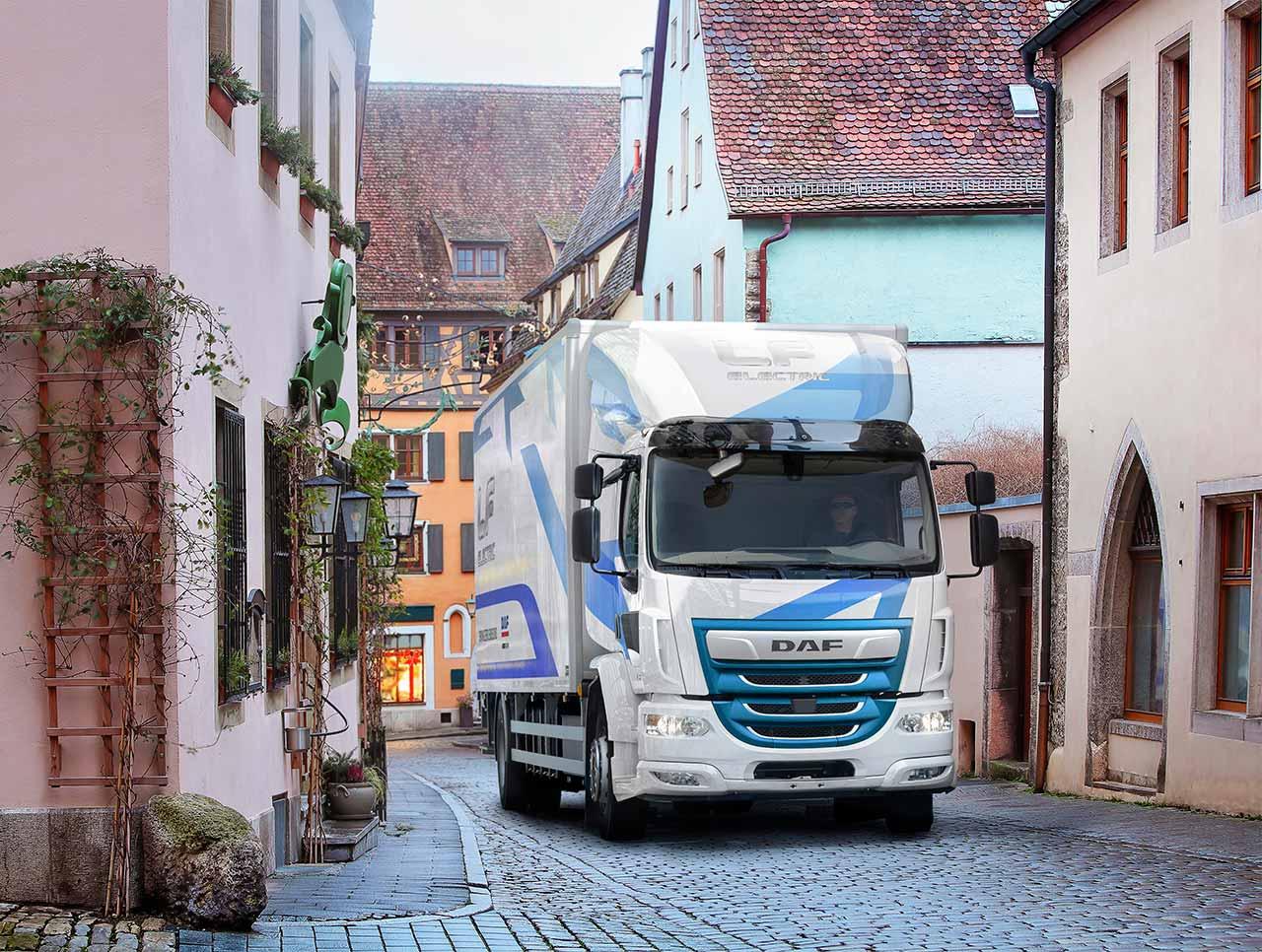DAF Trucks introduces LF Electric — Source: DAF
